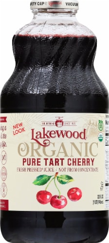 Lakewood Organic Pure Tart Cherry Juice Perspective: front