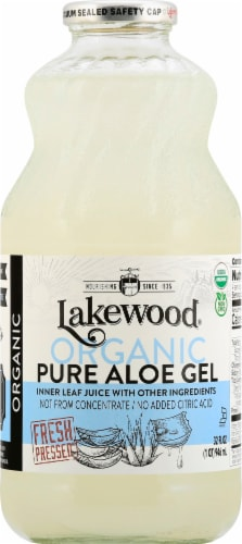 Lakewood Organic Pure Aloe Gel Perspective: front