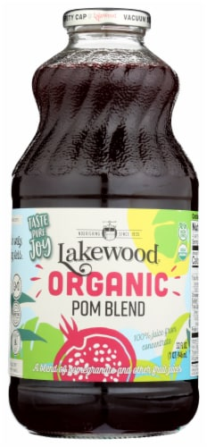 Lakewood Organic Pomegranate Juice Perspective: front