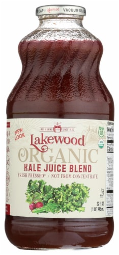 Lakewood Organic Kale Juice Blend Perspective: front