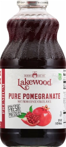 Lakewood Organic Pure Pomegranate Juice Perspective: front