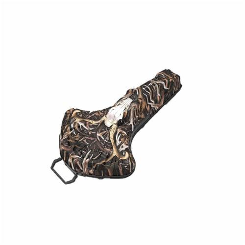 Barnett Whitetail Hunter Ballistic Waterproof Padded EVA Hanging Crossbow Case Perspective: front