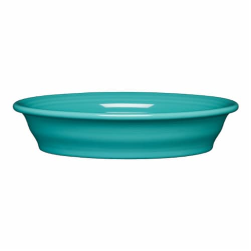 Fiesta Oval Vegetable Bowl - Turquoise Perspective: front