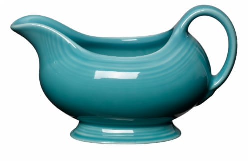 Fiesta Sauceboat - Turquoise Perspective: front