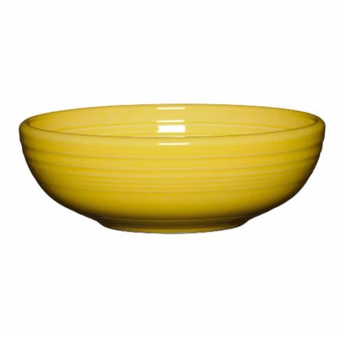 Fiesta Bistro Medium Serving Bowl - Sunflower Perspective: front