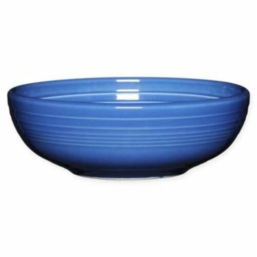 Fiesta Bistro Medium Serving Bowl - Lapis Perspective: front