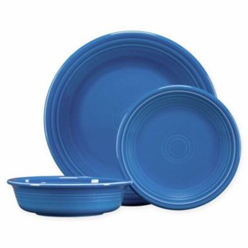 Fiesta Classic Dinnerware Set - Lapis Perspective: front