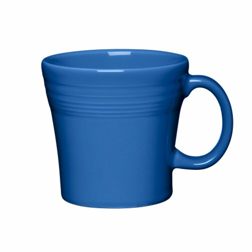 Fiesta Tapered Mug - Lapis Perspective: front
