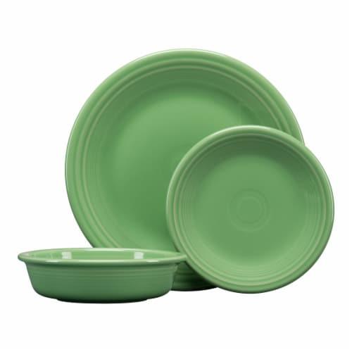 Fiesta Classic Dinnerware Set - Meadow Perspective: front