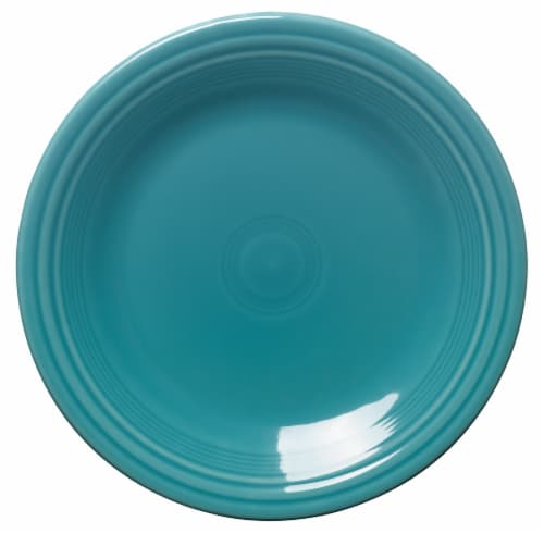 Fiesta Dinner Plate - Turquoise Perspective: front