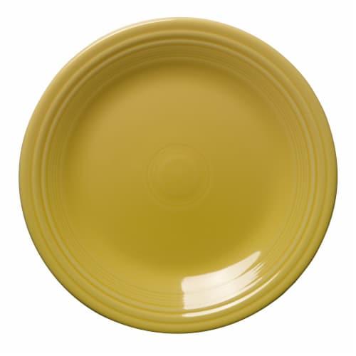 Fiesta Dinner Plate - Sunflower Perspective: front