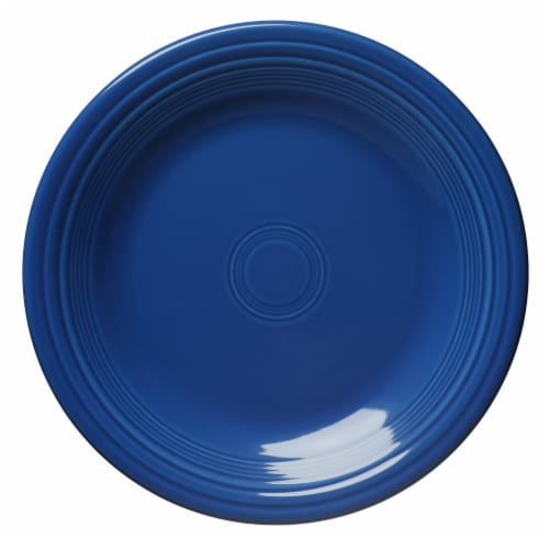 Fiesta Dinner Plate - Lapis Perspective: front