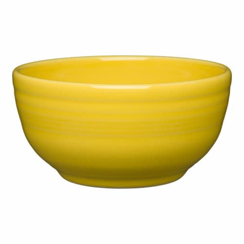 Fiesta Small Bistro Bowl - Sunflower Perspective: front