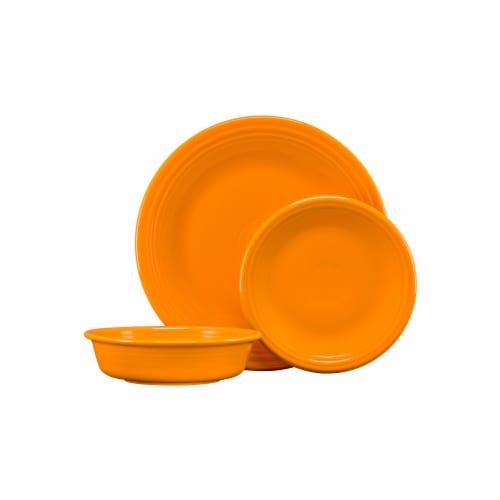 Fiesta Classic Dinnerware Set - Butterscotch Perspective: front