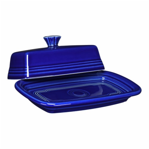 Fiesta XL Covered Butter Dish - Twilight Perspective: front
