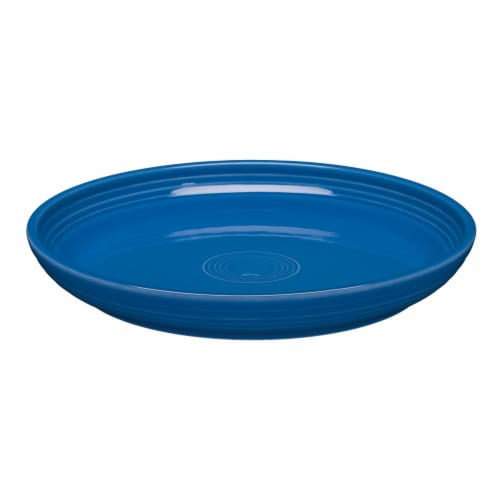 Fiesta Luncheon Salad Bowl Plate - Lapis Perspective: front