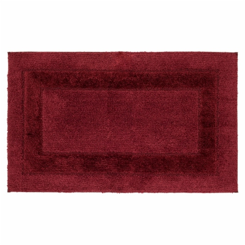 Mohawk Home American Heritage Bath Rug - Biking Red Perspective: front