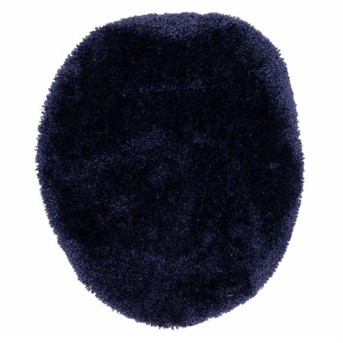 Mohawk Bath Rug - Medieval Blue Perspective: front