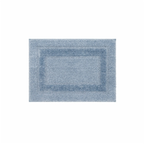 Mohawk Home Ashley Blue Bath Rug Perspective: front