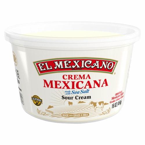 El Mexicano® Crema Mexicana Sour Cream Perspective: front