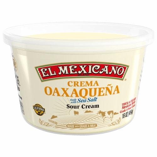El Mexicano® Crema Oaxaquena Sour Cream Perspective: front