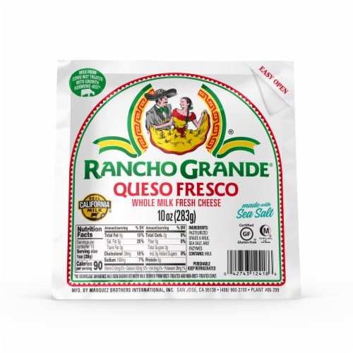 Rancho Grande Queso Fresco Perspective: front