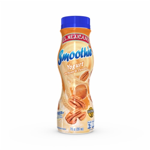 El Mexicano Pecan & Cereal Yogurt Smoothie Perspective: front