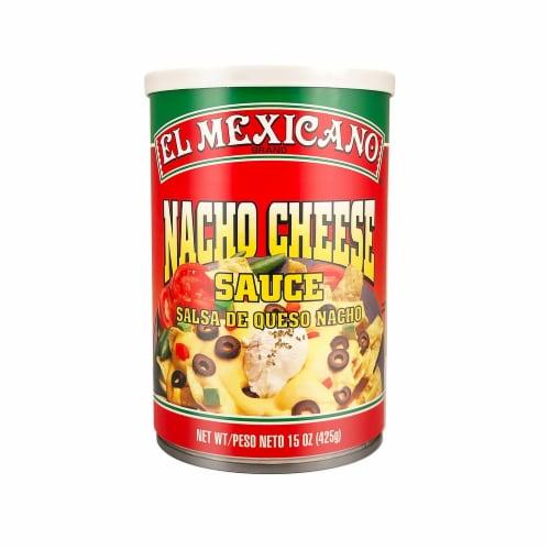 El Mexicano Nacho Cheese Sauce Perspective: front
