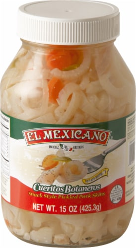 El Mexicano Cueritos Botaneros Perspective: front