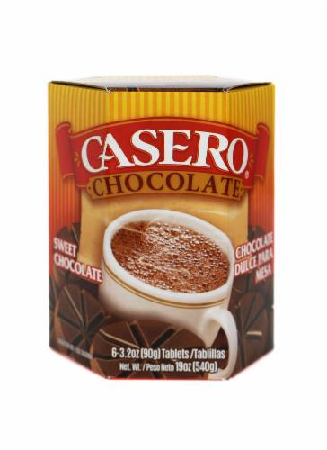 El Mexicano Casero Chocolate Para Mesa Perspective: front