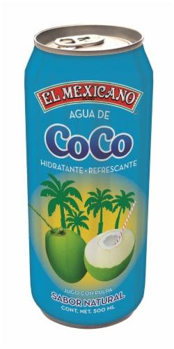 El Mexicano Agua de Coco Perspective: front