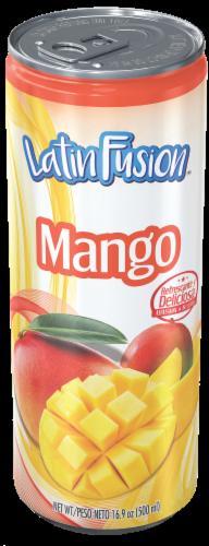 Latin Fusion Mango Juice Perspective: front