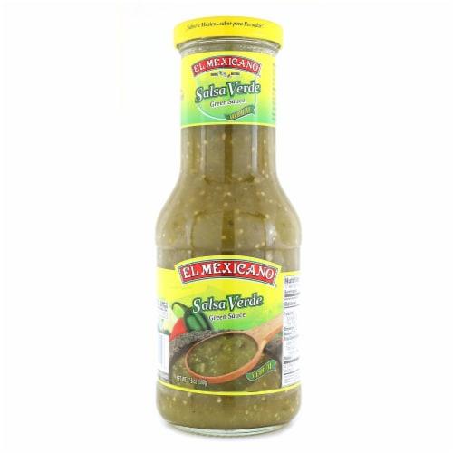 El Mexicano Salsa Verde Medium Green Sauce Perspective: front