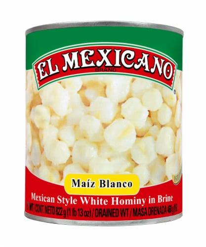 El Mexicano Maiz Blanco White Hominy Perspective: front