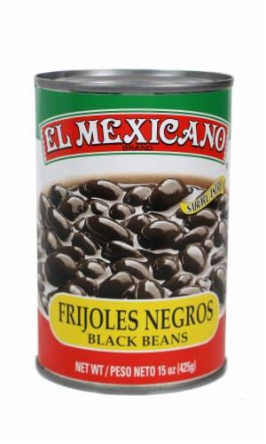 El Mexicano Frijoles Negros Black Beans Perspective: front