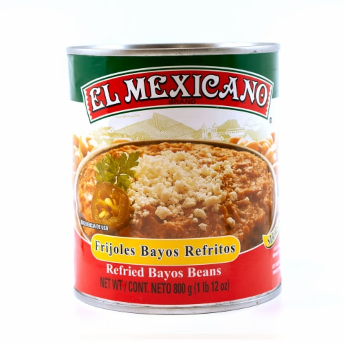 El Mexicano Refried Beans Perspective: front