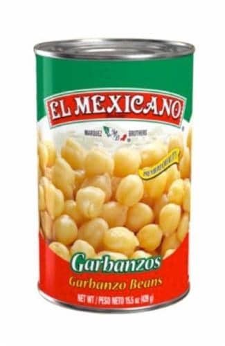 El Mexicano Garbanzo Beans Perspective: front
