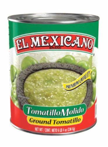 El Mexicano Crushed Tomatillos Perspective: front