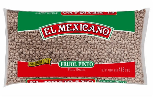 El Mexicano Frijol Pinto Beans Perspective: front