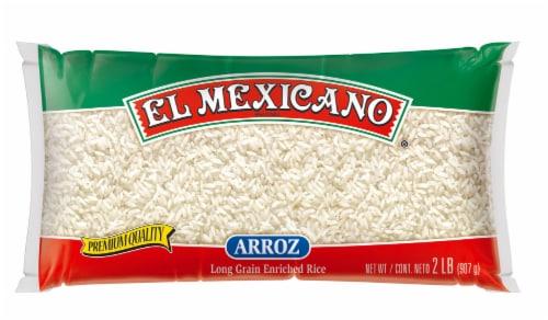 El Mexicano Arroz Long Grain Rice Perspective: front
