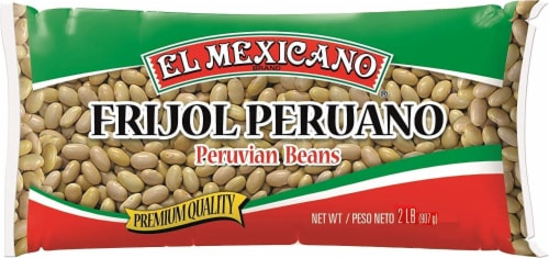 El Mexicano Frijol Peruano Peruvian Beans Perspective: front
