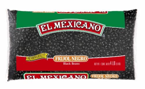 El Mexicano Black Beans Perspective: front