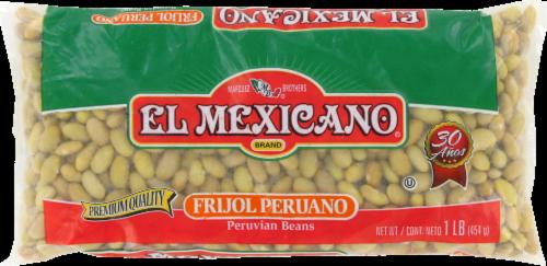 El Mexicano Peruano Beans Perspective: front