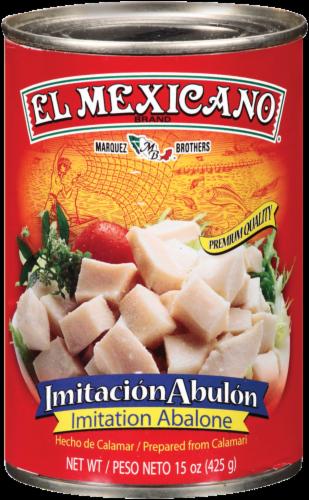 El Mexicano Imitacion Abulone Perspective: front
