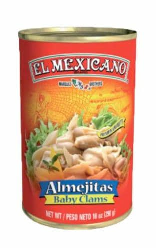 El Mexicano Baby Clams Perspective: front