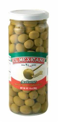 El Mexicano Aceitunas Olives Perspective: front
