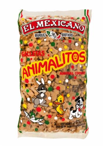 El Mexicano Galletas Animalitos Animal Cookies Perspective: front