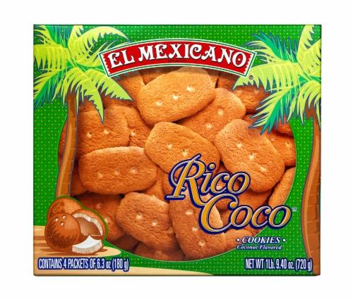 El Mexicano Rico Coco Cookies Perspective: front