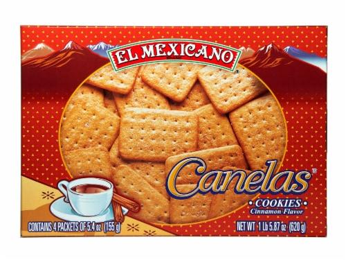 El Mexicano Canelas Cookies Perspective: front