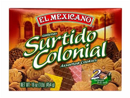 El Mexicano Surtido Colonial Cookies Perspective: front